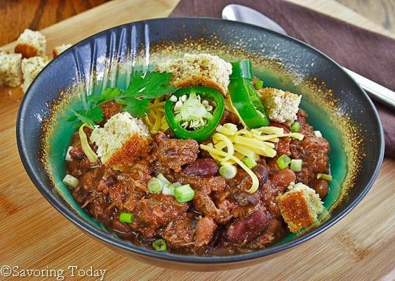 Tri-Tip Steak Chili