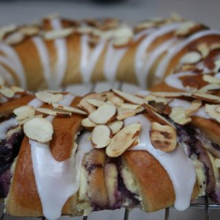 Blueberry Christmas Stollen