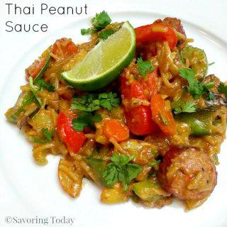 Homemade Thai Peanut Sauce: Easy Stir-Fry or Dipping Sauce