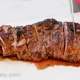 Grilled Tri-Tip Roast Recipe for a Charcoal or Gas Grill