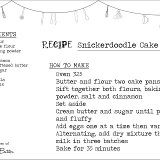 Snickerdoodle Cake 2-Ways: Test Kitchen Tuesday