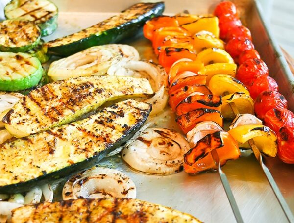 A grilled vegetable recipe to optimize the flavor and texture of each vegetable included. Easy, delicious side dish for any meal.