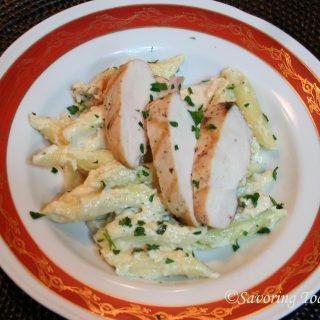Cedar Plank Grilled Chicken