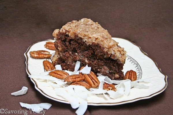 German Chocolate Cake [Ghirardelli Grand Fudge] | Savoring Today