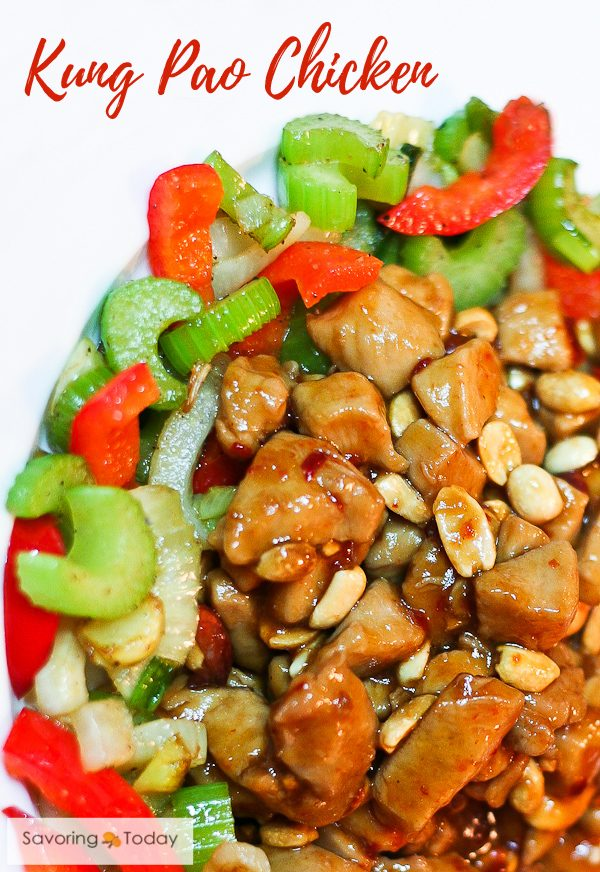 Easy Kung Pao Chicken at home, better than take out