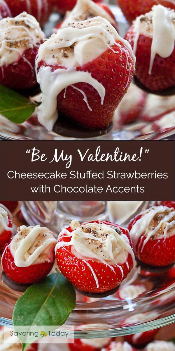 Easy and elegant dessert for Valentines Day or any celebration.