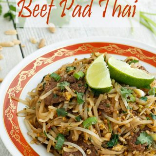 Pad Thai with Beef Recipe and Red Boat Fish Sauce