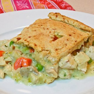 Turkey Pot Pie with Gluten Free Pie Crust