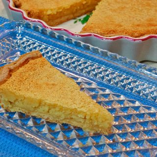 Lazy Mary's Lemon Tart [Gluten-Free]