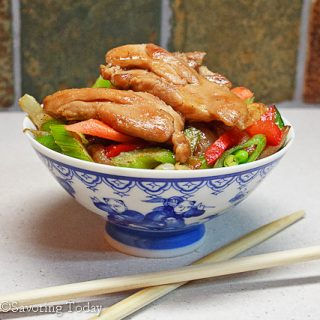 Chicken Teriyaki & Stir-Fry Vegetables
