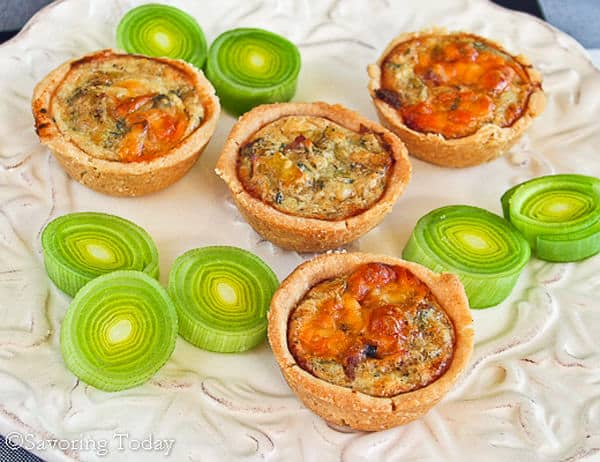 Bacon, Leek, and Cheddar Mini Quiche is a simple, satisfying appetizer for any gathering.