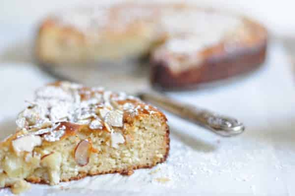Almond Lemon Honey Cake by The Urban Baker