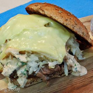 Reuben Sandwich for St. Patrick's Day