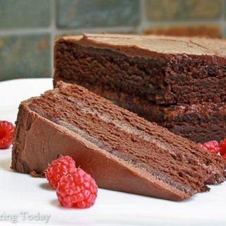 Chocolate Cake [Gluten-Free] and the Celebration Express