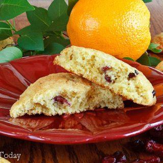 Orange Cranberry Scones [Gluten-Free] and Half-Century Marriages