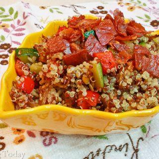 Quinoa Confetti Pilaf: September Sides