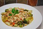 Turkey-Vegetable Tetrazzini -- Recipe