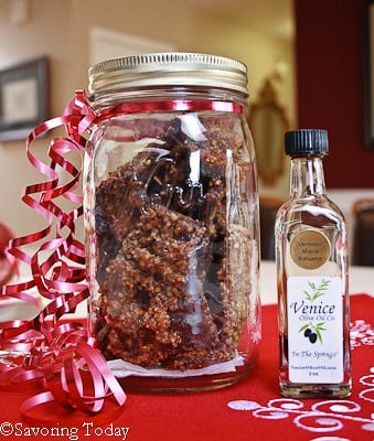 Pecan & Maple Balsamic Bacon for 'white elephant' gift