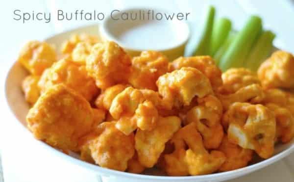 Super Bowl -- Spicy Buffalo-Cauliflower