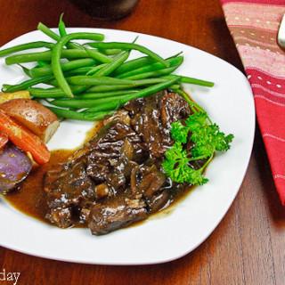 Beef Pot Roast a.k.a. Comfort Food
