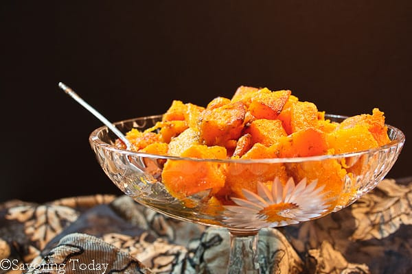 Curry-Spiced Roasted Butternut Squash