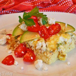 Egg & Sausage Casserole [GF]: A Hospitality Series