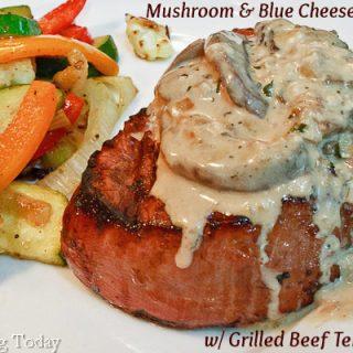 Mushroom & Blue Cheese Ragout