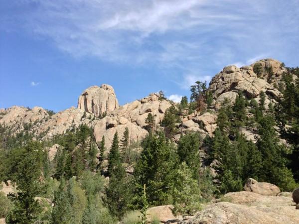 Estes rocks