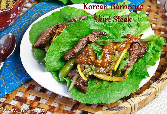 Korean Barbecue Skirt Steak [Easy] | Savoring Today