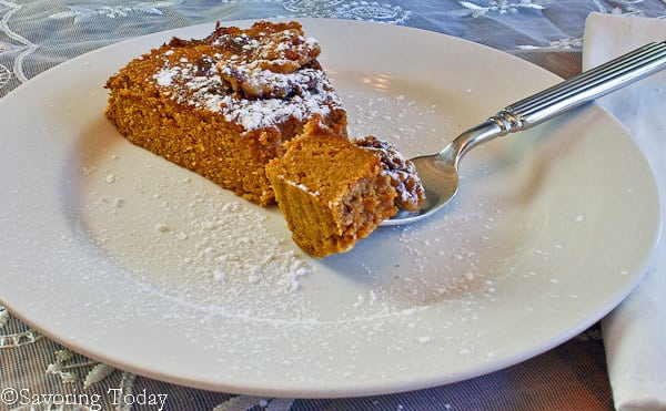 Pumpkin Tea Cake [gluten, grain, & dairy-free] for a delightful tea, brunch, or fall dessert.