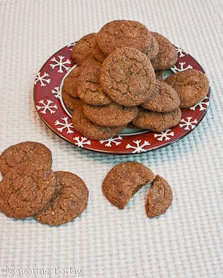 IMK - Chewy Ginger Cookies (1 of 1)