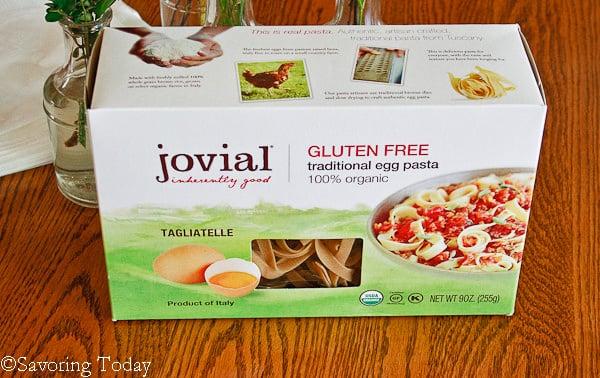 Beef Stroganoff -- Jovial GF Egg Noodles | Savoring Today