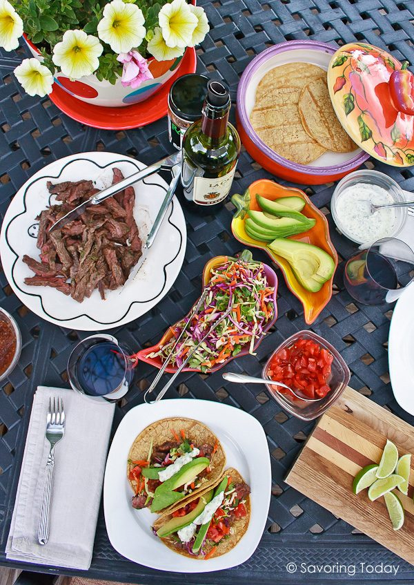 Take tacos to a whole new level with these grilled skirt steak recipes. Easy enough for family dinners and festive for entertaining. 14 Go-To Grilling Recipes for Summer