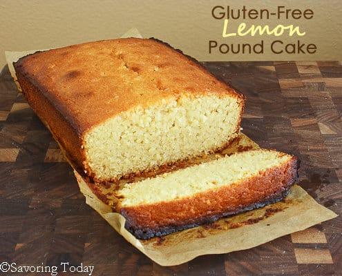 Gluten-Free Lemon Pound Cake - Loaf (1 of 1) copy