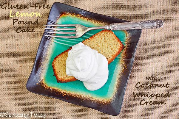 Gluten-Free Lemon Pound Cake - with coconut cream (1 of 1) copy