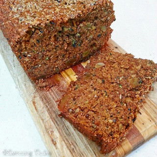 Zucchini-Ginger Bread: Sprouted Wheat, More Zucchini, Bits of Ginger
