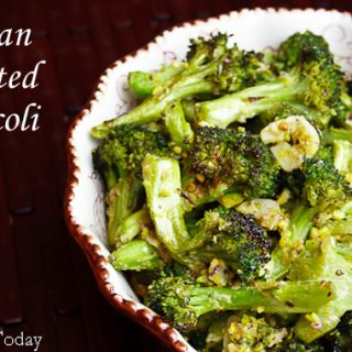 Tuscan Roasted Broccoli: Thanksgiving (or Anytime) Side Dish