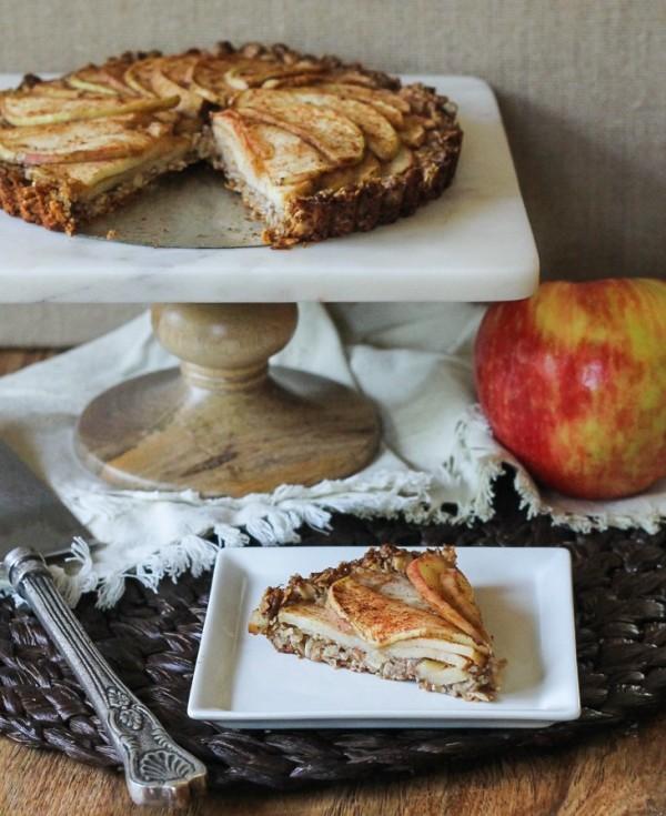 15 super bowl Spiced-Apple-Tart-GF-Vegan -- Bakerita