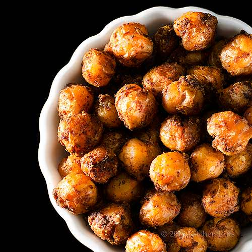 15 super bowl spicy roast chickpeas -- kitchen riffs