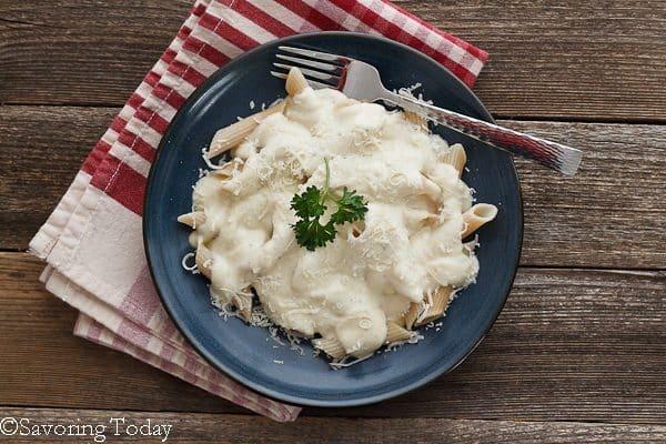 Cauliflower Alfredo Sauce | Savoring Today