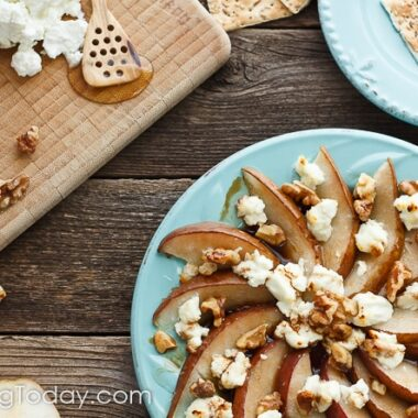An easy, elegant appetizer for date night, casual parties or holiday entertaining.