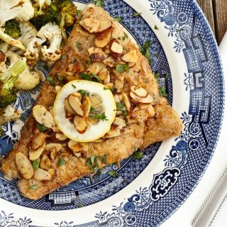 Barramundi in Brown Butter Sauce with Almonds