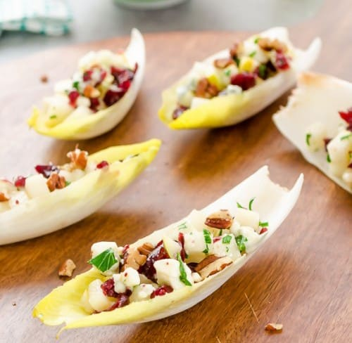 Apps - endive-salad-bites-with-pears-blue-cheese-and-pecans