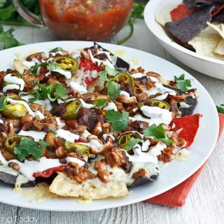 Smoky BBQ Chicken Nachos: Party Appetizer Favorites