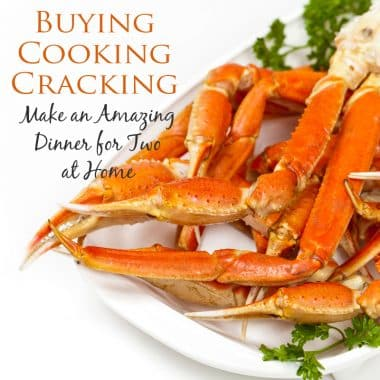 How to buy, cook, and crack crab for a fabulous dinner at home.