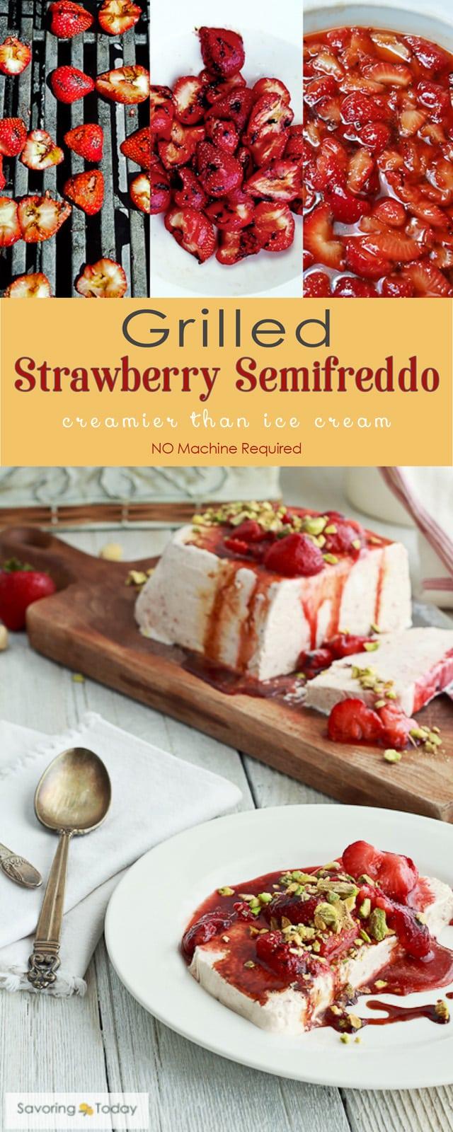 Easy, no machine required frozen dessert recipe perfect for summer celebrations.