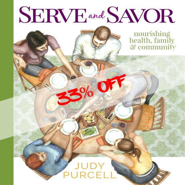 Serve and Savor Cookbook 33% OFF