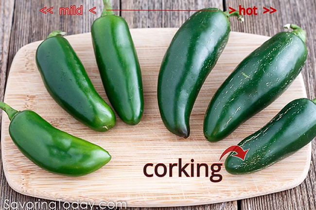 How to know if a jalapeno is hot. Choosing the best chiles for recipes.