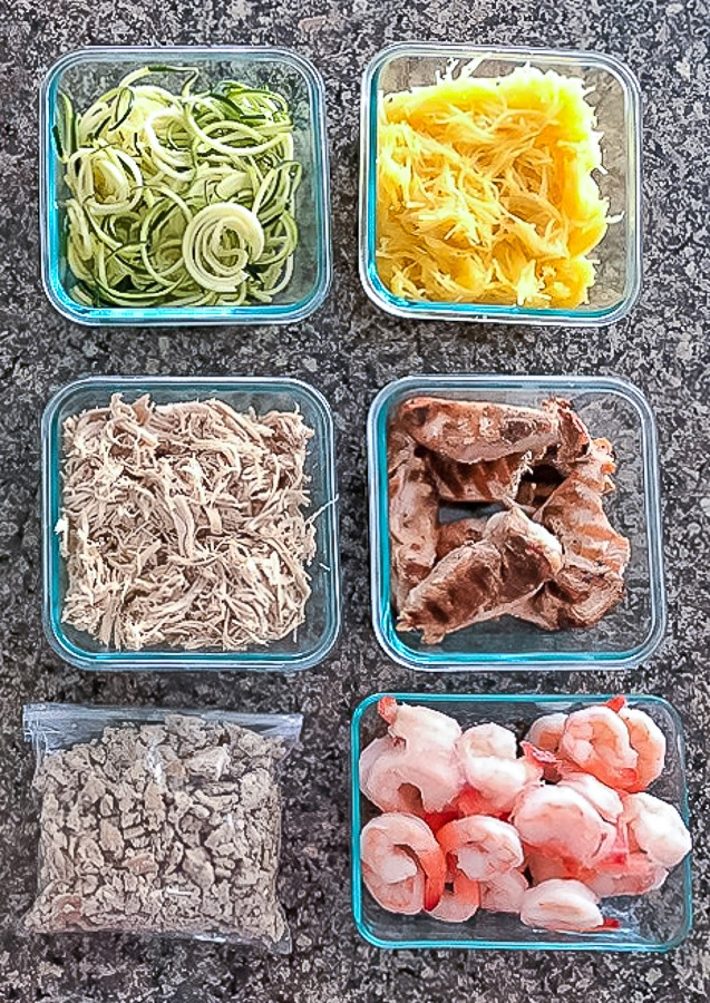 Easily prep meals for the week with these 3 simple steps to meal planning.