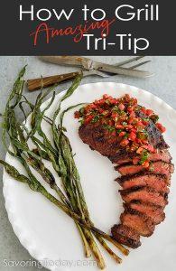 Grilled Tri-Tip Roast